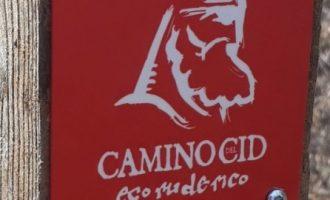 El Camí del Cid incorpora a la seua senyalització cartells d'advertència