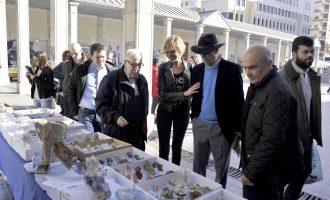 Cultura celebra la 32a edició de la Fira dels Minerals de Castelló