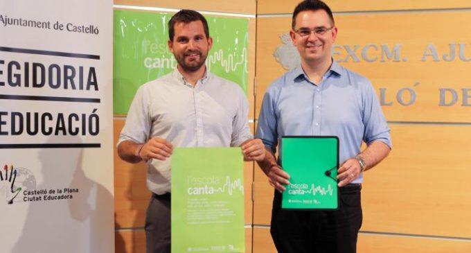 El govern municipal mostra el seu suport al projecte l'Escola Canta impulsat per la Regidoria d'Educació