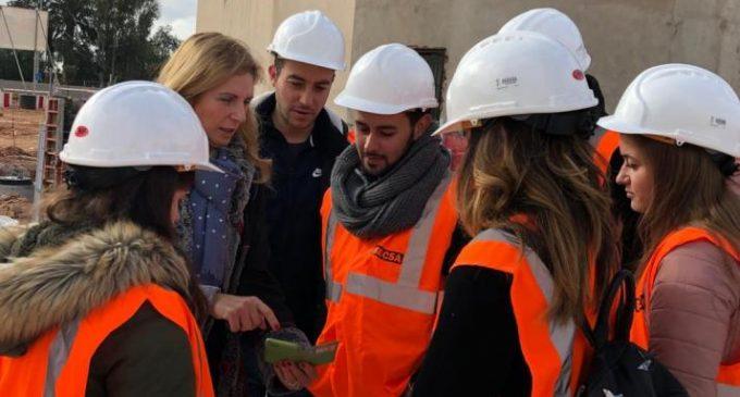 La construcció del nou pont del riu Sec de Castelló arriba al 70% d'execució
