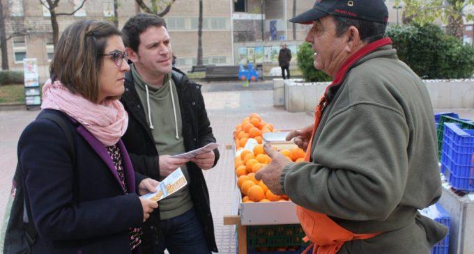 La Fira de la Taronja vuelve a las plazas de Castelló el 6 de diciembre