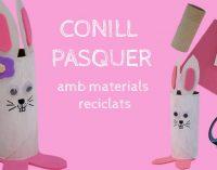Crea un divertit Conill de Pasqua amb materials reciclats