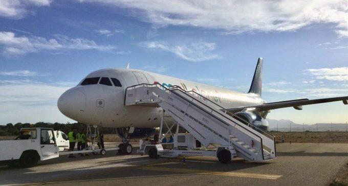 L'aeroport de Castelló tanca un acord amb una firma britànica per a treballs de desmuntatge d'avions