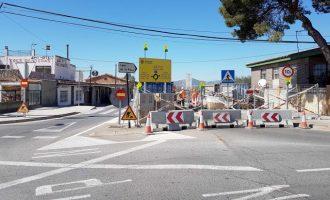 Castelló tanca al trànsit parcialment el camí La Plana per a iniciar la seua remodelació integral