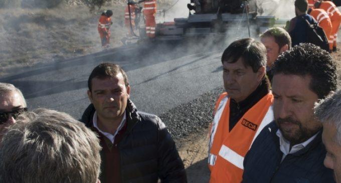 Diputació reforça els treballs en les carreteres de l'interior