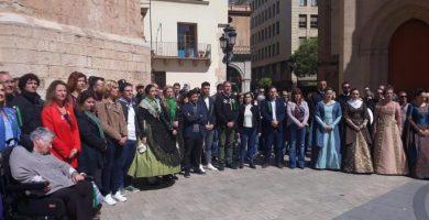 """Concentració a Castelló contra les agressions sexuals en Magdalena: """"Si toquen a una ens toquen a totes"""""""