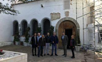 La Diputació reforça el seu compromís amb el patrimoni en contribuir a la rehabilitació de l'entorn la Cova Santa