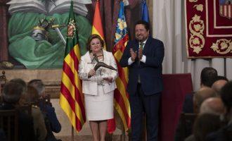 """Moliner reivindica en el Dia de la Província que """"he treballat perquè l'orgull de ser de Castelló ens connecte a tots"""""""
