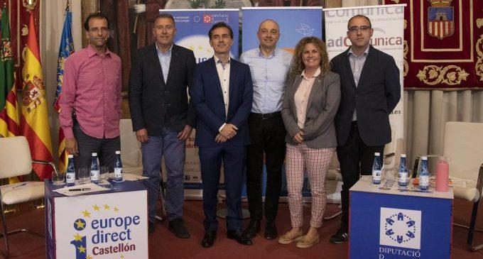 La Diputació es constitueix en fòrum obert d'opinió sobre la UE a la província amb el debat 'Eleccions Europees: #Csestavezvota'