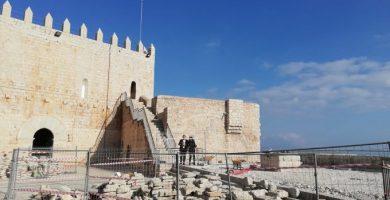 La Diputació ultima la restauració del Castell de Peníscola per a convertir-lo en el més visitable d'Espanya