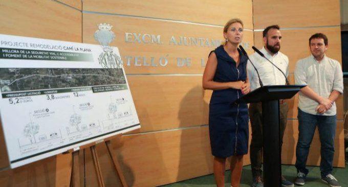Castelló da luz verde al proyecto de ejecución del camino La Plana para comenzar las obras antes de Magdalena