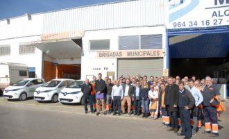 Castelló redueix l'empremta de carboni amb la incorporació a la seua flota de 8 vehicles 100% elèctrics
