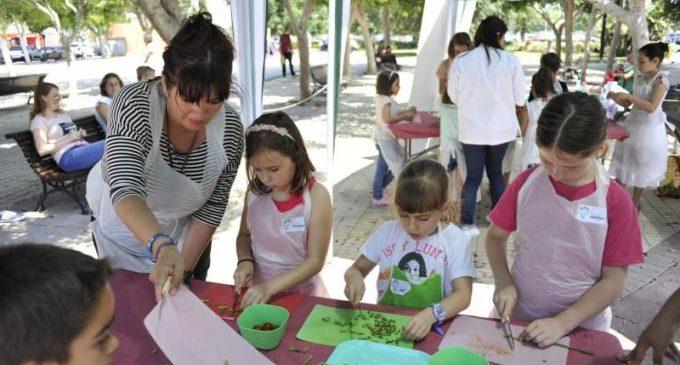 Divercuina de la Terreta pone en marcha en abril su cuarta edición de talleres infantiles de cocina
