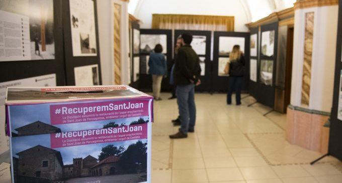 La Diputació manté a les Aules l'exposició dels projectes proposats per a rehabilitar Sant Joan de Penyagolosa