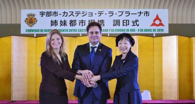 Marco i Kubota esperen convertir l'agermanament Castelló-Ube en el 'pont' entre Espanya i el Japó