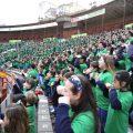 """El acto final de """"l'Escola Canta' acogerá a más de 2.000 escolares"""