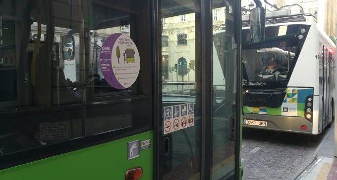 Castelló manté les parades a demanda per a dones en la línia nocturna N1 i en el bus del Grau
