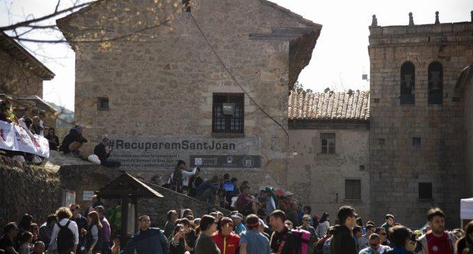 Un miler de persones han visitat la mostra de la rehabilitació de Sant Joan de Penyagolosa aquest cap de setmana en l'ermitori