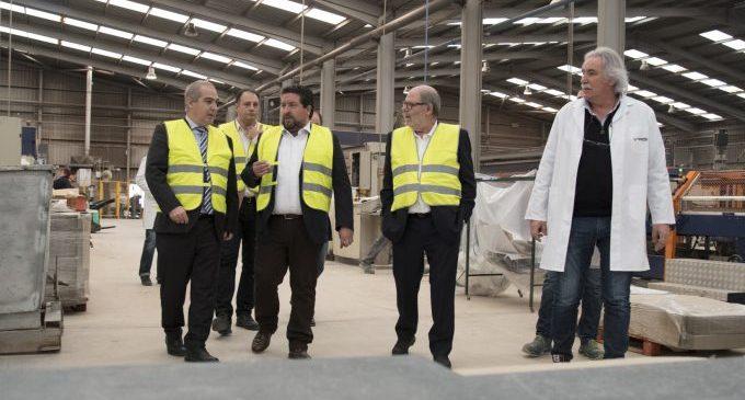 Moliner traslladarà al Comissari europeu d'Energia les reivindicacions del sector ceràmic provincial