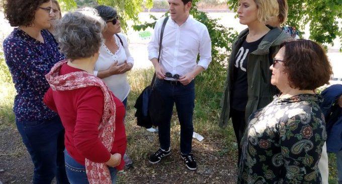 Garcia es compromet a resoldre les demandes dels barris perifèrics de Castelló