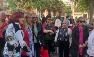 Amparo Marco desgrana els projectes PSPV per als 'superadults' de Castelló