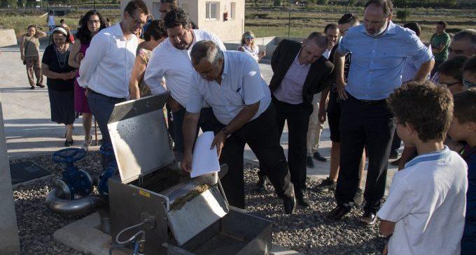 La Diputació depura 6.000 milions de litres d'aigua residuals en els pobles en el seu treball per fomentar la sostenibilitat