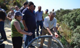 La Diputació duplica fins a 800.000 euros les ajudes d'emergència hídrica per a atendre les necessitats dels municipis