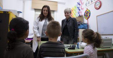 S'amplia el programa 'Salut al Poble', amb el qual es va revista la vista de 1.500 xiquets de pobles de l'interior en 2018