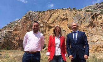 Marco planteja reconvertir la pedrera de Les Serretes en un parc d'oci
