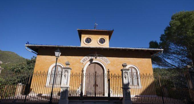 La Diputació eleva ja a més de 400.000 euros la seua inversió per a la recuperació de Villa Purificación de Montanejos