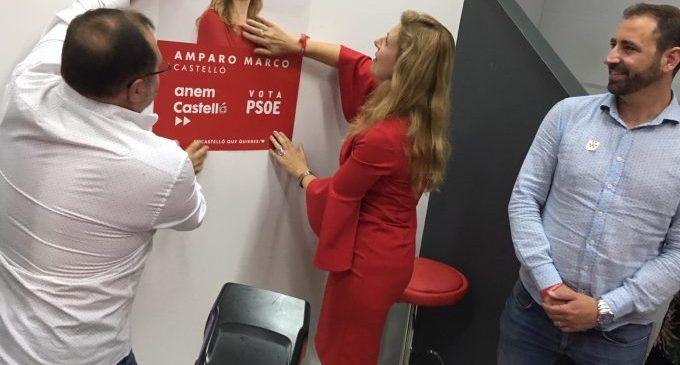 """Amparo Marco: """"Anem a eixir a guanyar el futur de Castelló"""""""