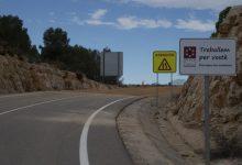 La Diputació reforça els treballs en les carreteres de l'interior en la seua aposta per revertir la despoblació del medi rural
