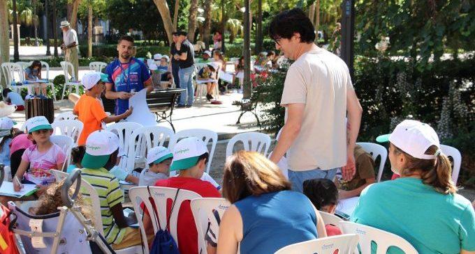 Dibuixar el parc Ribalta, reivindicar la sostenibilitat