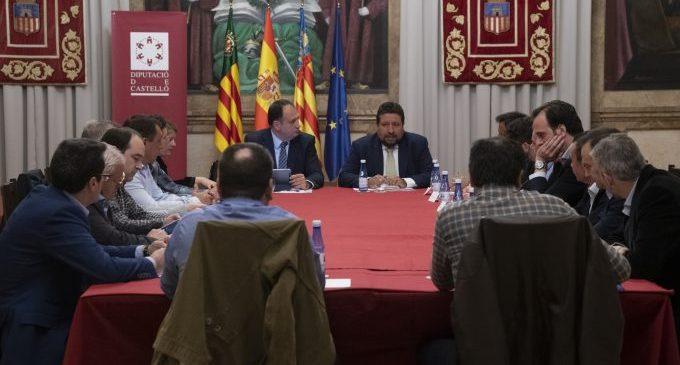 Moliner coordina amb la indústria ceràmica que la UE recolze la cogeneració i evite la fuga d'empreses de la província