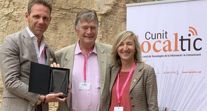 La Diputación confirma su liderazgo en transparencia y modernización al ser reconocida en el Congreso LocalTic de Cunit