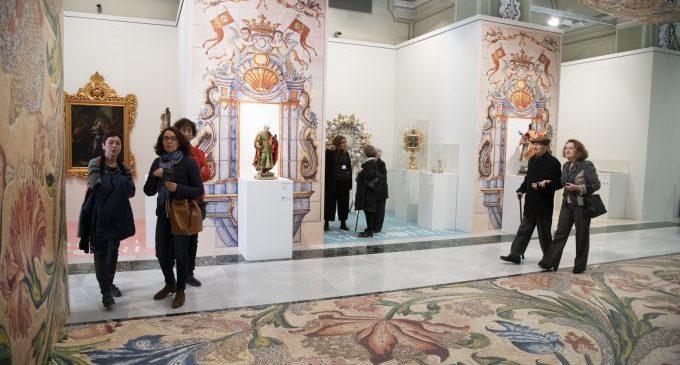 L'exposició d'art sacre La Llum de la Memòria encara la seua recta final a Castelló amb rècord de visitants
