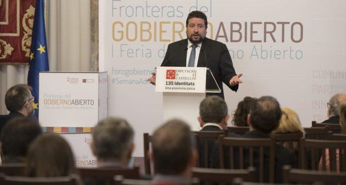 Moliner consolida la Diputació com una de les institucions més transparents després d'aplicar 22 mesures específiques