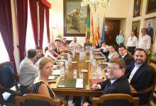 Marco reivindica a Puig un finançament més just per a Castelló i enfortir l'aliança institucional
