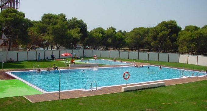 Las piscinas municipales de Castelló se preparan para la temporada de baño 2019
