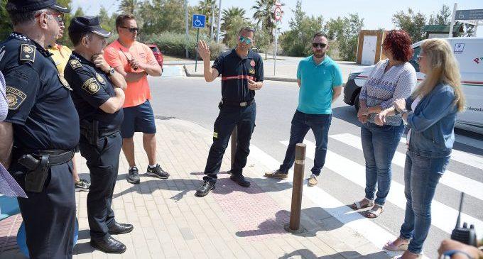 Castelló reforça la seguretat en el litoral amb el servei estival de Policia i Salvament