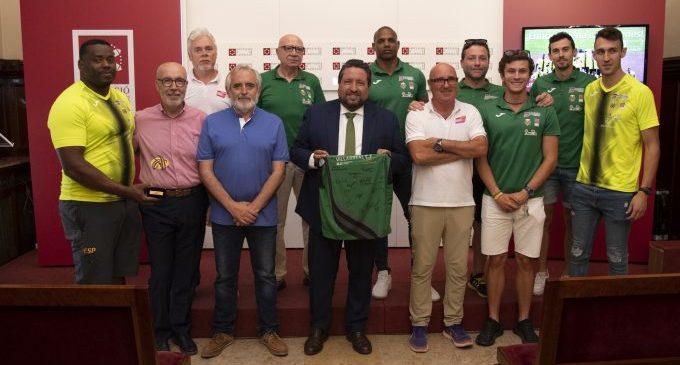 La Diputació constata la seua aliança amb el Platges de Castelló com el millor abanderat de Castelló Escenari Esportiu