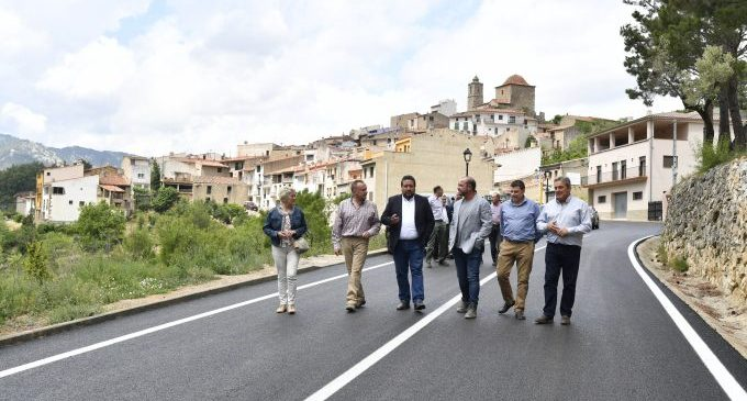 La Diputació conclou una actuació històrica de 6,5 milions en carreteres de la Tinença en el seu compromís amb #Repoblem
