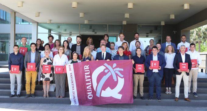 Marco agraeix la distinció de Qualitur que certifica l'excel·lència de les tres platges de Castelló
