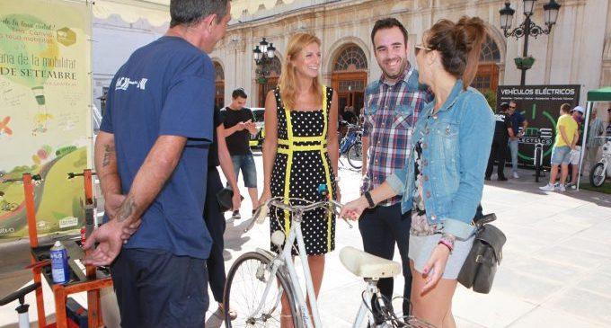 El carril bici és un dels objectius que potenciarà Marco en la seua legislatura