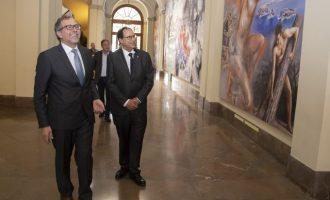 Martí i Soler treballaran junts per a combatre la despoblació i captar fons europeus per a Castelló