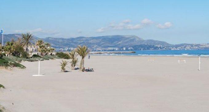 Las playas del Pinar, el Gurugú y el Serradal de Castellón, cerradas de forma temporal por prevención