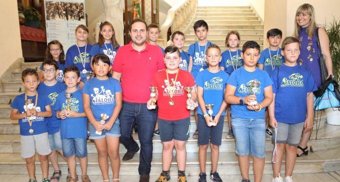 Els guanyadors del Campionat Regional de Càlcul Mental arriben a Castelló
