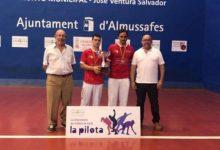 El club de pilota valenciana d'Almenara guanya l'autonòmic de frontó