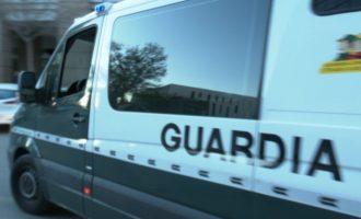 Detinguts a Borriana tres individus com a sospitosos de la comissió de delictes contra el patrimoni