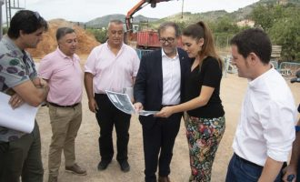 Borriol activarà a la tardor, i en col·laboració amb Diputació i Conselleria, el nou col·lector d'aigües residuals